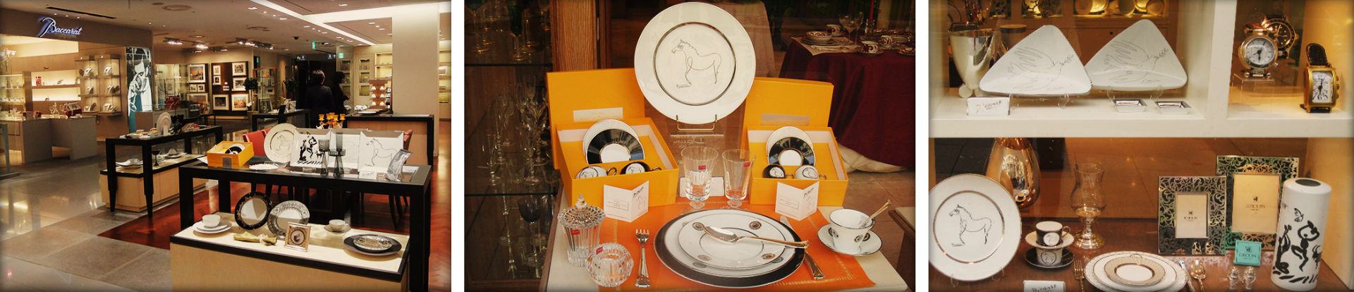porcelain paris picasso plates shop scenography luxe luxury