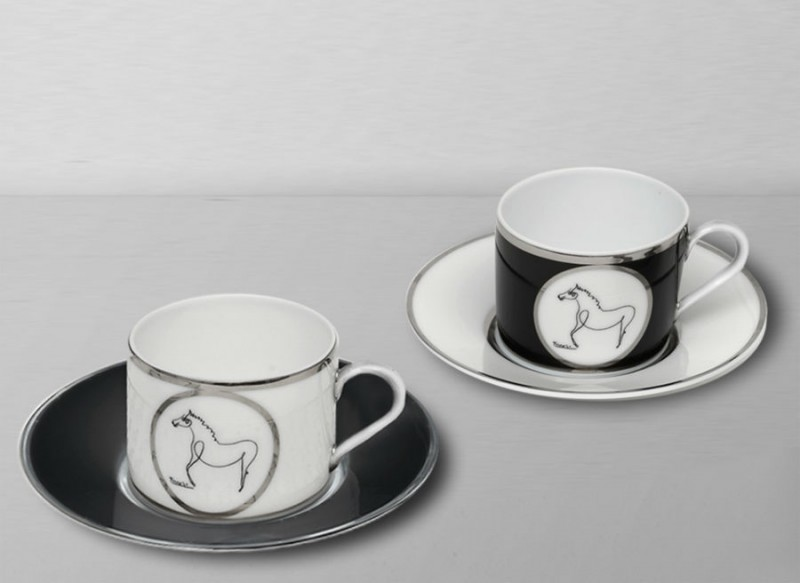 porcelain picasso glasses tea coffee marc de ladoucette luxe luxury paris france