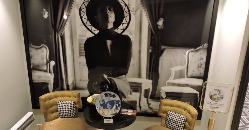 porcelain picasso scenography hotel sofitel paris audrey hepburn france marc de ladoucette